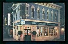 Postcard Disneyland The Upjohn Company old-fashioned drug store. S