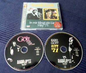 2xCD Karel Gott KOMPLET In Mir Klingt Ein Lied & Hity '71 +23 Bonus Czech Bonton
