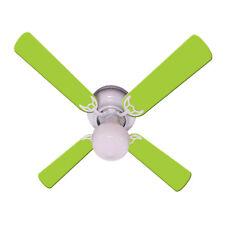 New Lime Green Kids Room Decor Ceiling Fan 42