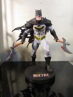 DC Collectibles DC Designer Series: Metal Batman by Greg Capullo Resin Statue~