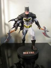 DC Collectibles DC Designer Series: Metal Batman by Greg Capullo Resin Statue~