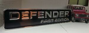 Top Quality Rear Body Badge For Defender First Edition 2020 2021 LR137458