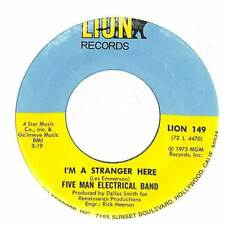 """Five Man Electrical Band - I'm A Stranger Here  - 7"""" Vinyl Record"""