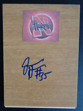 JORDAN HOOPER Signed Floorboard Dallas Wings WNBA Nebraska Basketball FREE SHIP