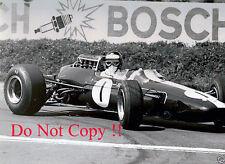 Jim Clark Lotus 33 German Grand Prix 1966 Photograph 2