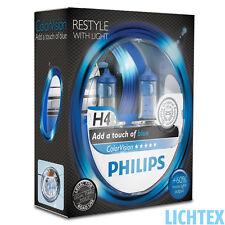 H7 philips Colorvision bleu-styling avec lumière-DUO-Box