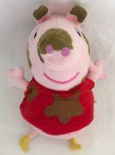 "Peppa pig 8"" TALKING MUDDY PUDDLES PEPPA PIG PLUSH  SOFT TOY"
