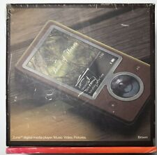 Microsoft Zune 30GB Digital Media Player (Brown) Brand New Open Box