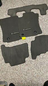 OEM Lexus GX460 Genuine CARPET FLOOR MATS 5pc Set (Brown)