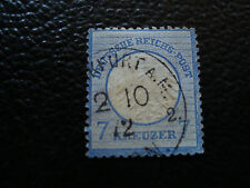 ALLEMAGNE - timbre yvert et tellier n° 10 obl (A20) stamp germany