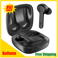 Boltune True Wireless earbuds Bluetooth V5.0 Headphones 40 Hours play time Black