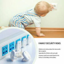 Lots 10pcs EU Power Socket Outlet Protective Cover Baby Child Safety Protector