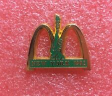 Pins MAC DO NEW YORK 1992 Statue MC McDonald's McDonalds Crew Lapel Pin Vintage