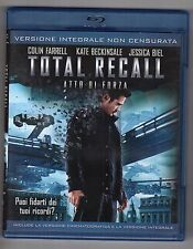 Blu-ray TOTAL RECALL Atto di forza C. FARREL, K. BECKINSALE, J. BIEL