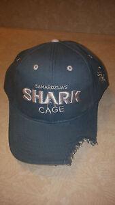 NEW Chicago White Sox  Jeff Samardzija Shark Cage Baseball Hat Cap SGA 7-04-2015