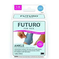 Genuine 3M Futuro Slim Silhouette Ankle Support for Her L&R *New