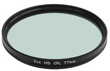 77mm CPL Filter 77 MC Filter Hard Coated Circular Polarizer NEW ICE HD