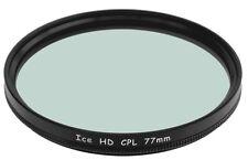 77mm CPL Filter 77 MC Filter Hard Coated Circular Polarizer NEW ICE HD