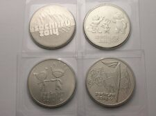 4 x 25 roubles-russie-olympique sotchi 2014