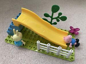 Peppa Pig Playground Slide Construction Set