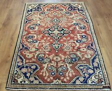 OLD WOOL HAND MADE PERSIAN ORIENTAL FLORAL RUNNER AREA RUG CARPET 170x97CM