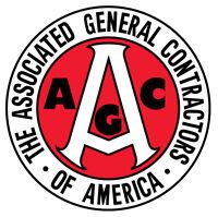 Associated General Contractors (AGC) STICKER Decal HARD HAT