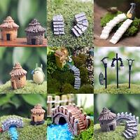 Hot Garden Ornament Figurine Craft Plant Pot Miniature Fairy Garden Decor DIY