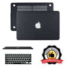 """Matte Shell Hard Case + Keyboard Protector for MacBook Air Pro Retina 11 13"""" 15"""""""