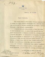 Lettera della Corte di S.M. la Regina - Omaggio alla Principessa Maria Francesca