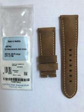 OEM Authentic New Officine Panerai 26mm x 22mm Assolutamente ASSO Brown Strap