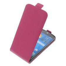 Custodia Per Acer Liquid Jade S / Z Protezione Stile Flip Fucsia