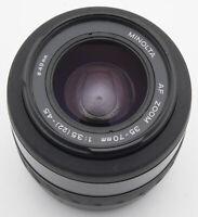 Minolta AF Zoom 35-70 mm 35-70mm 3.5 (22) 4.5 1:3.5-4.5 - Minolta / Dynax Sony
