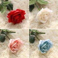 Artificial Fake Roses Silk Flower Wedding Home Bridal Bouquet Decor New
