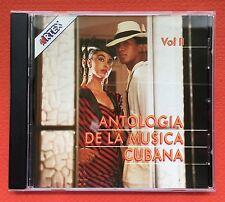 Antologia de la Musica Cubana Vol II Cd Various Artis Guaracha ARTEX 1991