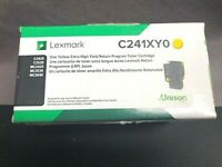Genuine Lexmark C241XY0 Yellow C2425/C2535/MC2425/MC2535/MC2640 Extra High Yield
