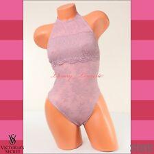 d24ce9d0c5 Victoria s Secret Lingerie High-Neck Teddy Open Back Bodysuit Thong XS X- Small