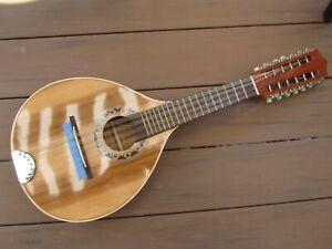 12 string mandolin tricordia mandriola made in Mexico