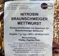 Nitrosin Braunschweiger Mettwurst, 1kg, Gewürz, Gewürze,