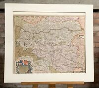 Antique Map Of Austria Titled 'Circuli Austriaci' By Frederick De Wit Dated 1690
