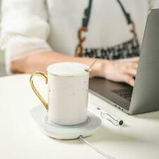 Smart Electric Cup Mug Milk/Coffee/Drink Warmer Heater Tray 55℃ Smart USB I6A9
