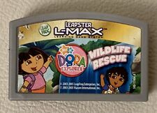 Leapster L-Max Dora The Explorer Wildlife Rescue Cartridge Only