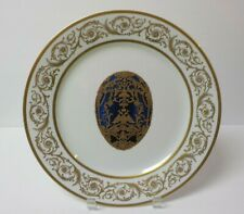 """Faberge Imperial Collection 11.75"""" Cabinet Plate - Imperial Czarevitch Egg"""