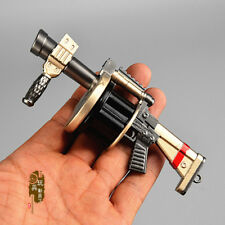 1/6 Mini Alloy Grenade Launcher Model Howitzer Toys Weapon Accessories Figure