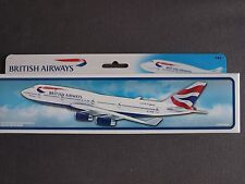 British Airways Boeing 747-400 Premier Portfolio  Model 1:250 - SM747-64HB