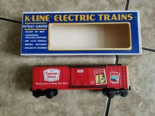 K-LINE 0-027 GAUGE Duncan Hines Train Car