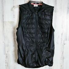 Danskin Women's Medium 8-10 Cycling Wind Vest Solid Black
