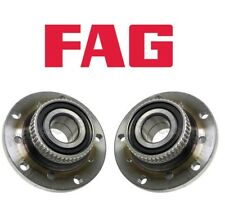 For BMW E46 E85 E86 3.2l L6 Set of Front Left & Right Wheel Hub w/ Bearings Fag