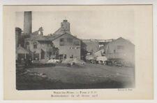 More details for belgium postcard - nouex les mines, bombardement du 28 fevrier 1915 (a1)