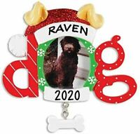 Personalized Dog Frame Christmas Hanging Tree Ornament HOLIDAY GIFT 2020