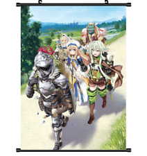 Hot Anime Goblin Slayer Cosplay Home Decor Poster Wall Scroll 40*60CM U18